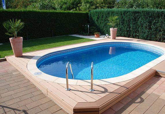 die besten 25 schwimmingpool garten ideen auf pinterest schwimmteiche garten pool und. Black Bedroom Furniture Sets. Home Design Ideas