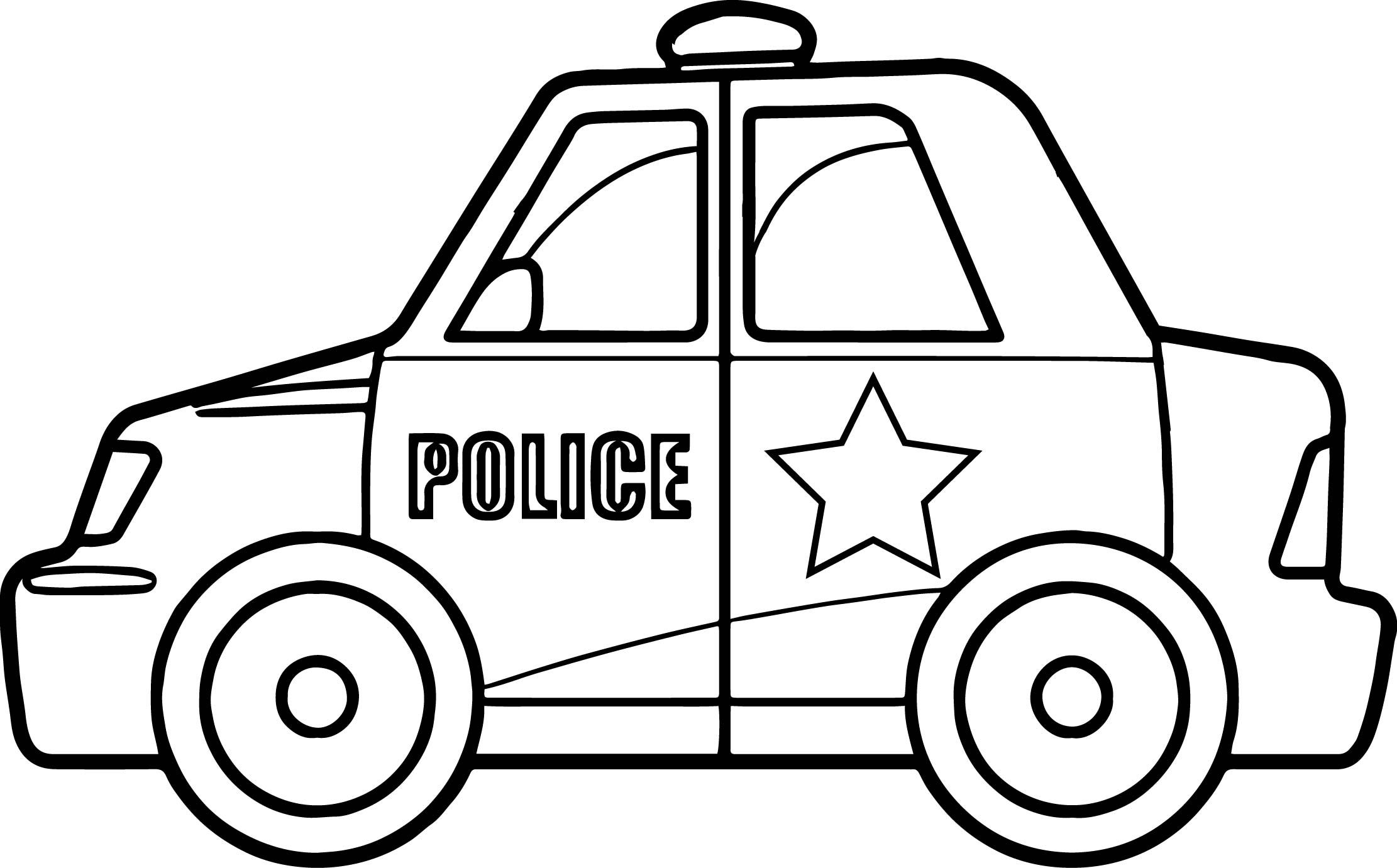 Cool Super Police Car Coloring Page Cars Coloring Pages