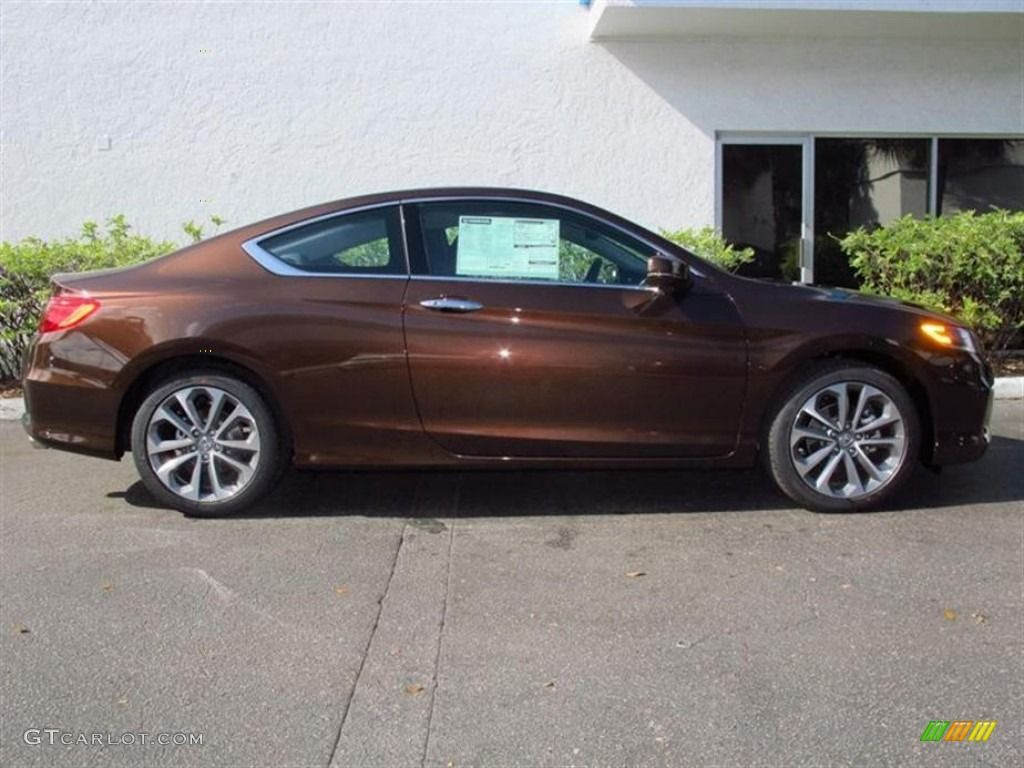 Tiger Eye Pearl 2013 Honda Accord EXL V6 Coupe Exterior