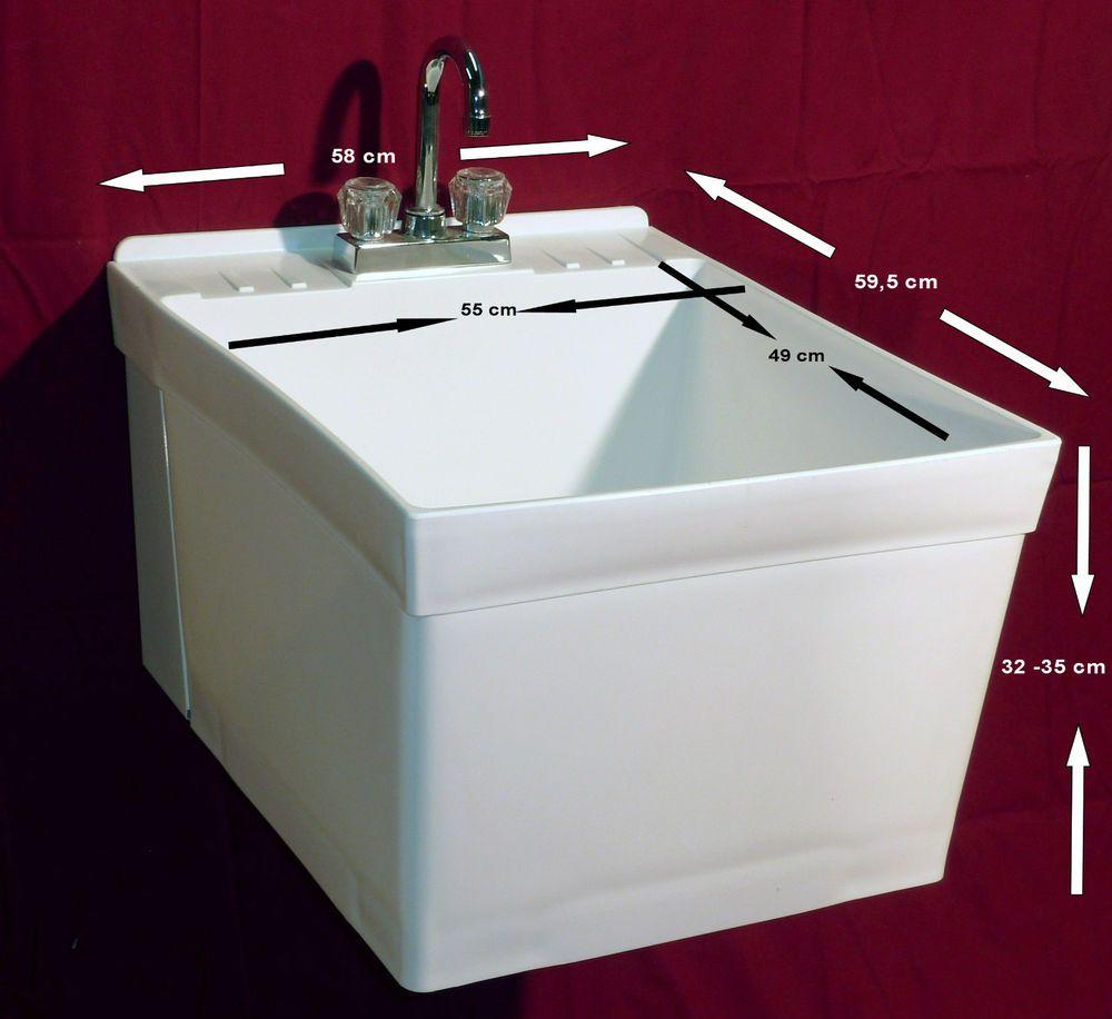 Vier bac de lavage vier vier baignoire extra grand et for Evier bac profond