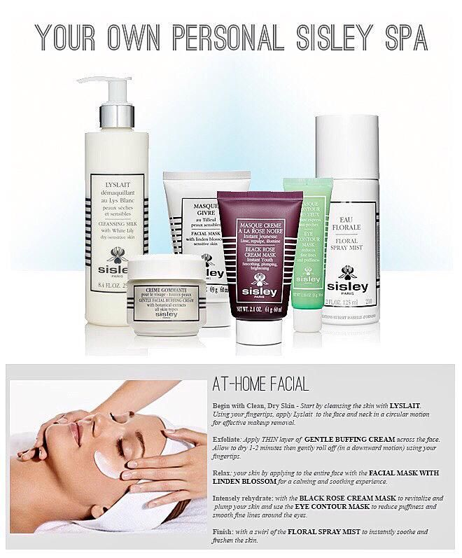 "Jamie Tyree on Twitter: ""Treat yourself to an ""At Home Facial"" with Sisley-Paris. #sisleybloomingdalestysons #sisley http://t.co/jDukFqaKpF"""