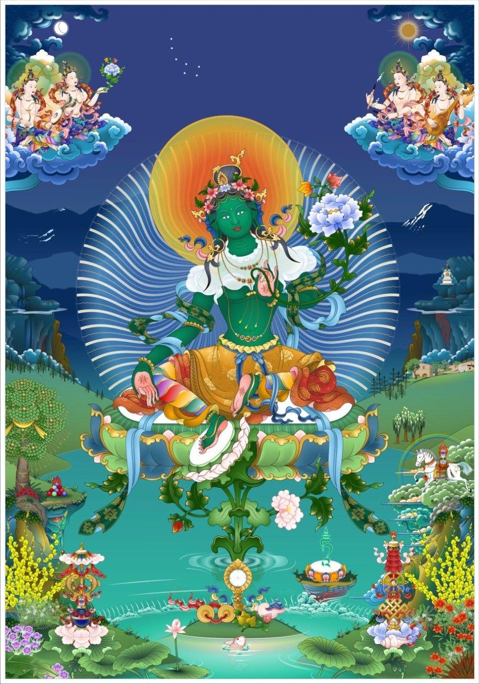 18 Thangas ideas | thangka, becoming a buddhist, bodhisattva