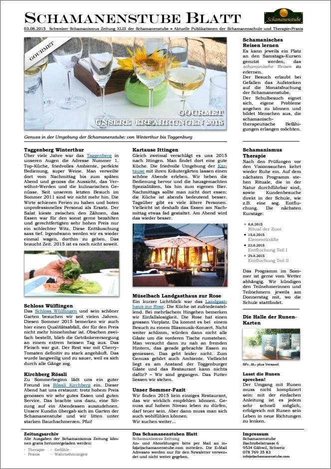 Der erschütternde Bericht über die Qualität teurer und gehobener Restaurants zwischen Winterthur und Toggenburg #gastronomie #restaurants #gourmet
