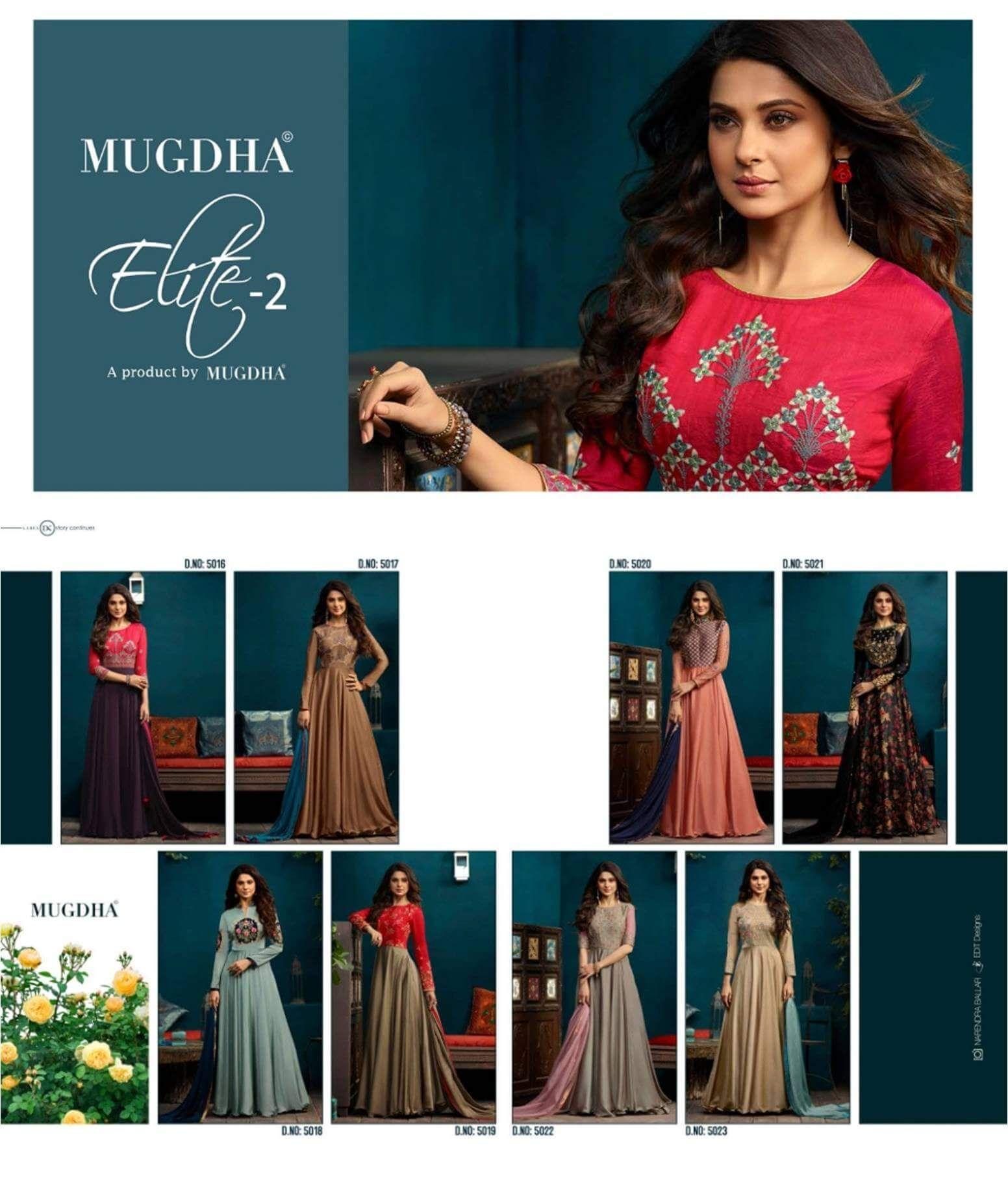 9474599b05 Shop Anarkali Gown Mugdha Elite 2 Online with the best price. Flaunt latest  styled cuts and look with these Indian Dresses, Give yourself the stylish  look ...