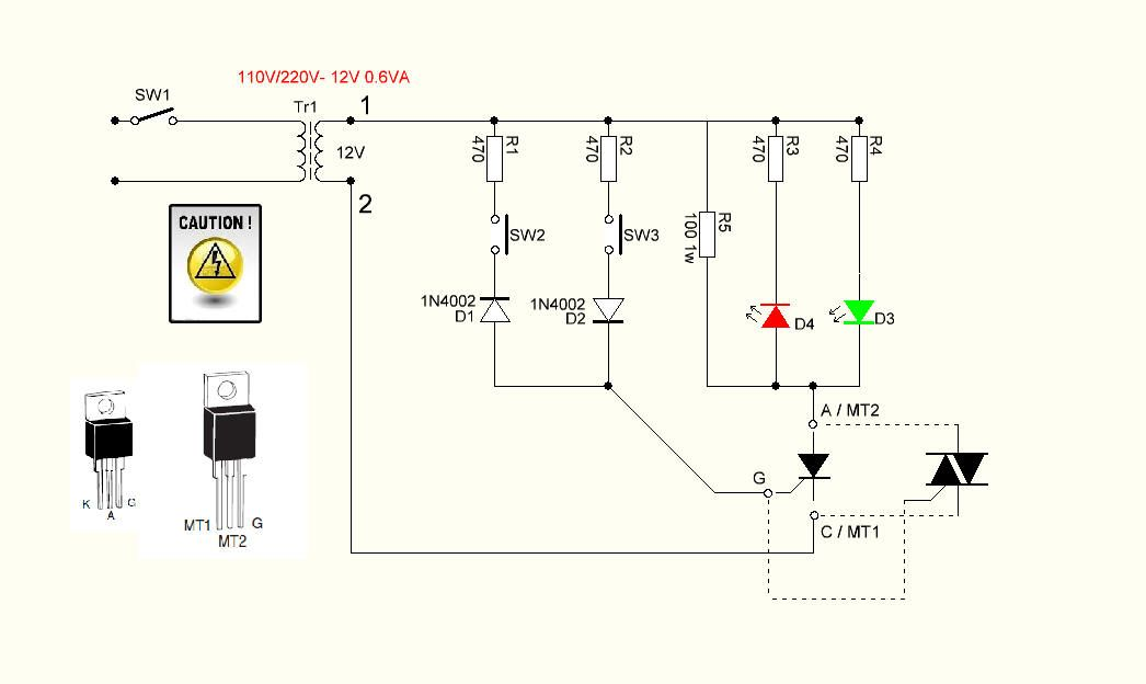 THYRISTOR AND TRIAC TESTER | electrónica | Pinterest | Arduino, Diy ...