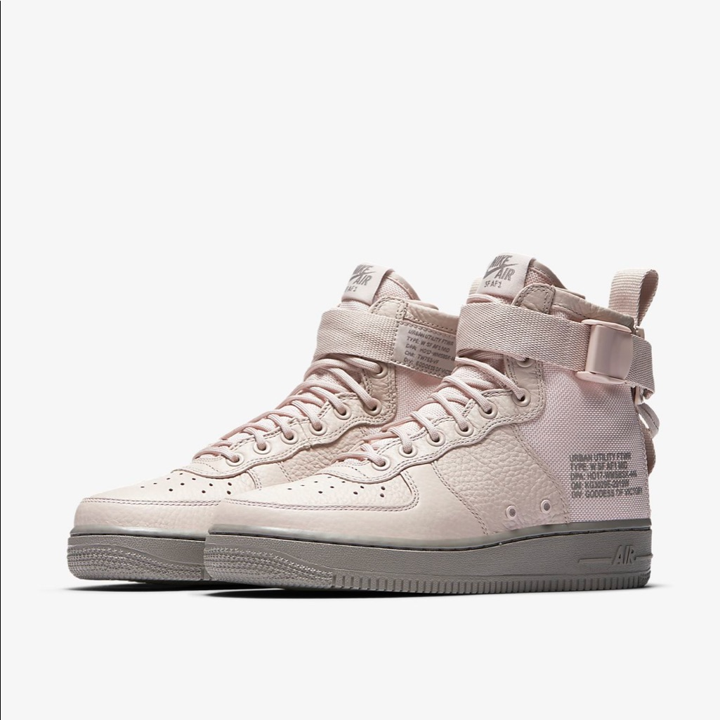 Nike Shoes | Nike Sf Air Force 1 Mid Women'S Boot Sneakers