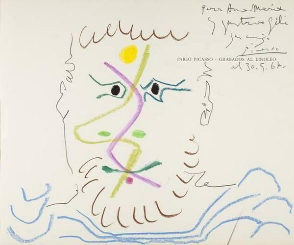 El conjunto documental de Gustavo Gili sobre #Picasso llega al museo del pintor en Barcelona http://www.rtve.es/n/1037240