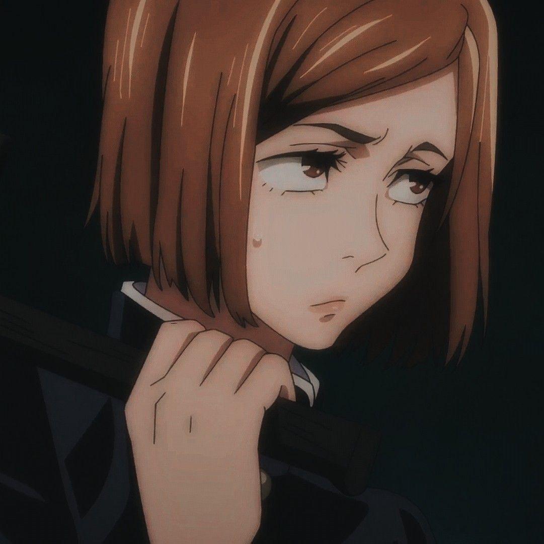 Kugisaki Nobara icons in 2021   Jujutsu, Anime poses, Anime