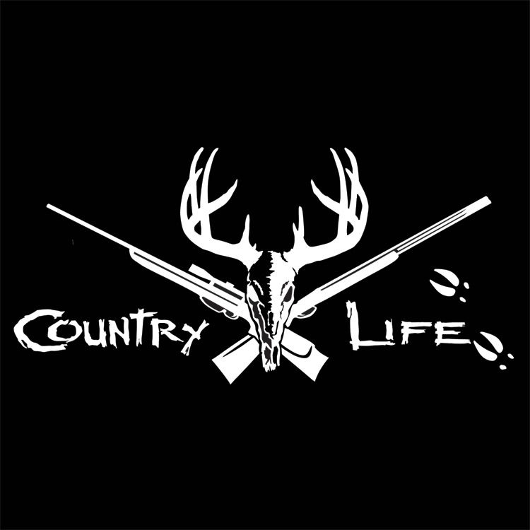 Country Life: COUNTRY LIFE DECAL! :) ANY COLOR! :)