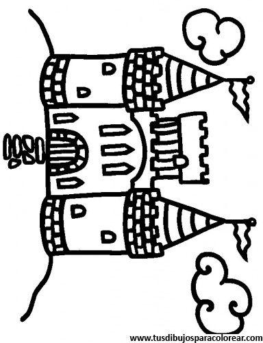 Descargar dibujos para colorear de Castillo_2 gratis | arte ...