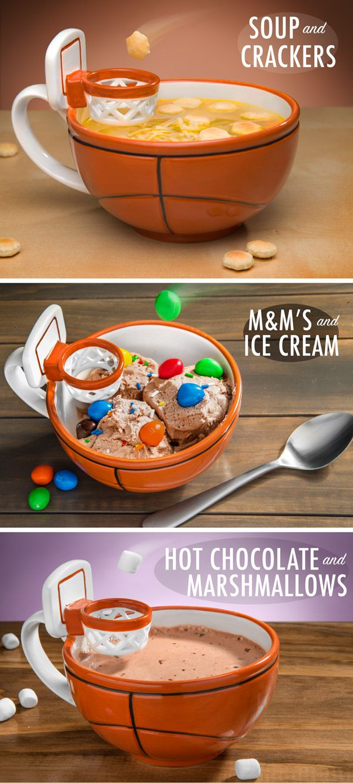 Basketball Mug Gives You a Taste of LeBron's Mad Skills With Your Drink -  #basketball #lebron #mugs