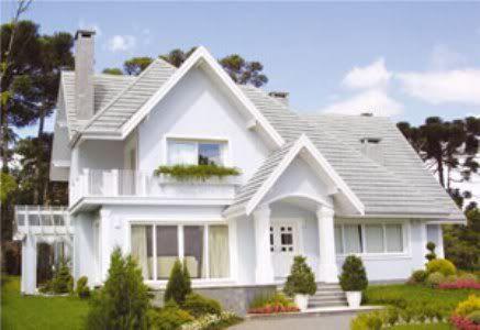 Fachadas de casa americana constru es pinterest for Fachadas de casas americanas