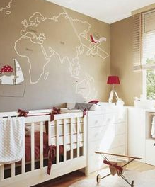 Gender Neutral Nursery Travel Theme 4