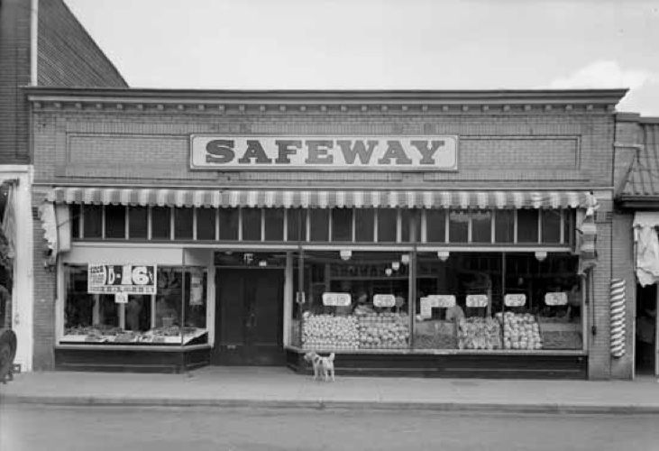 25 Vintage Photos Of Vancouver S Grocery Stores Amerikanische Flagge Flaggen
