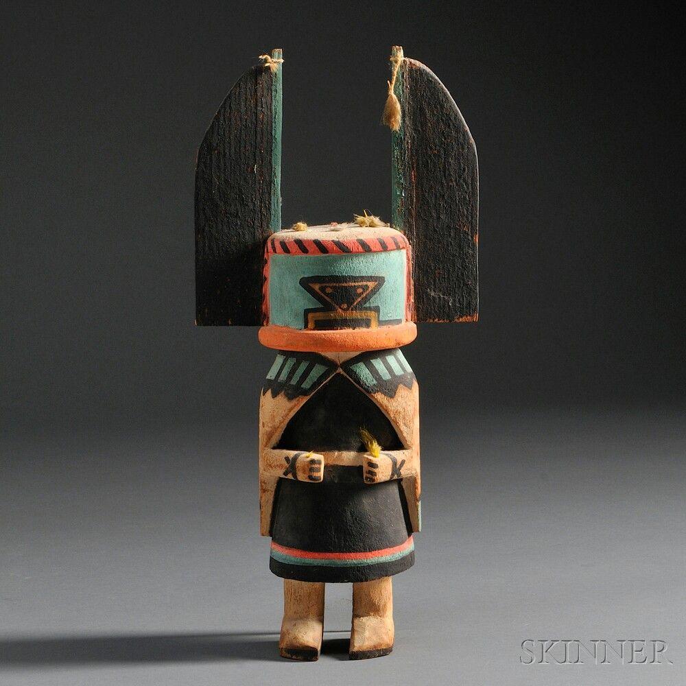 Hopi Polychrome Carved Wood ♯ ...