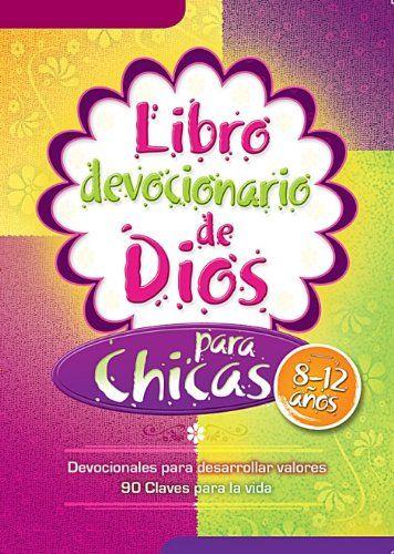 Libro Devocionario de Dios Para Chicas - editorial unilit