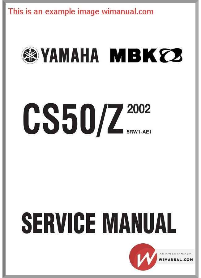 yamaha manuals pdf