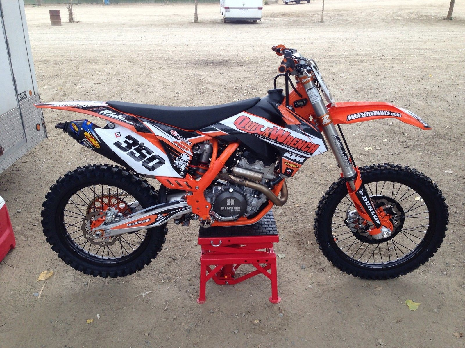 Project quick wrench 350sxf with duel fuel injection quickwrench s bike check vital mx