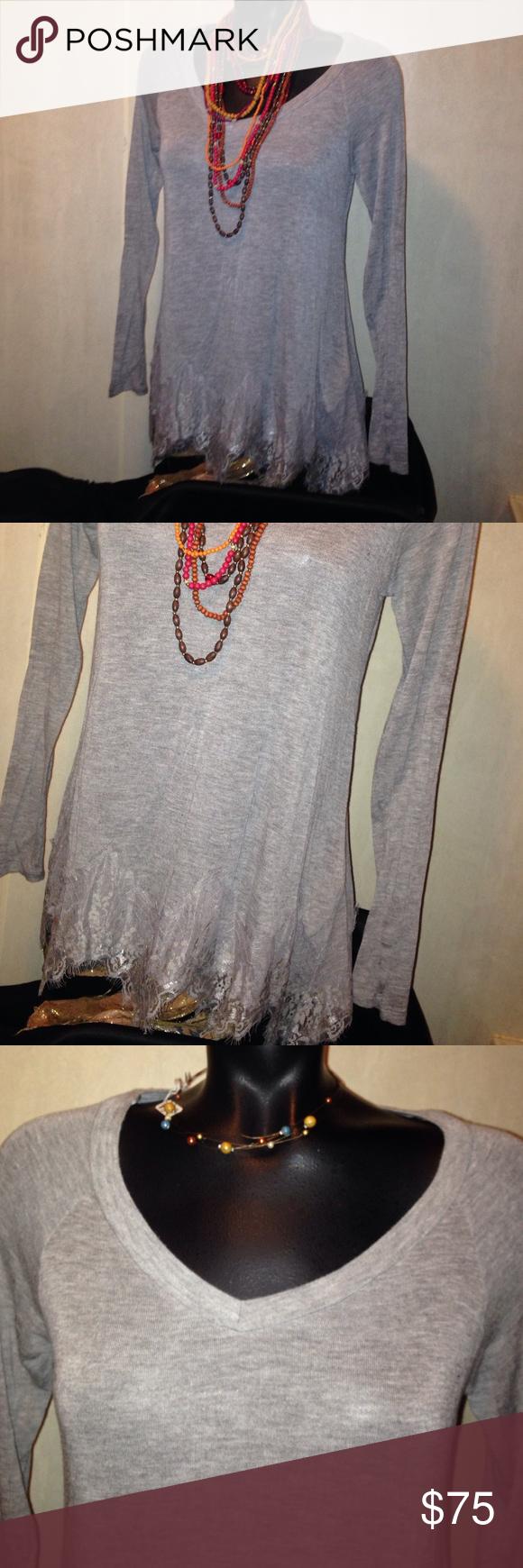 M boutique lace dress  BOHO GYPSY PEPLUM LACE BOTTOM SZ M Boutique