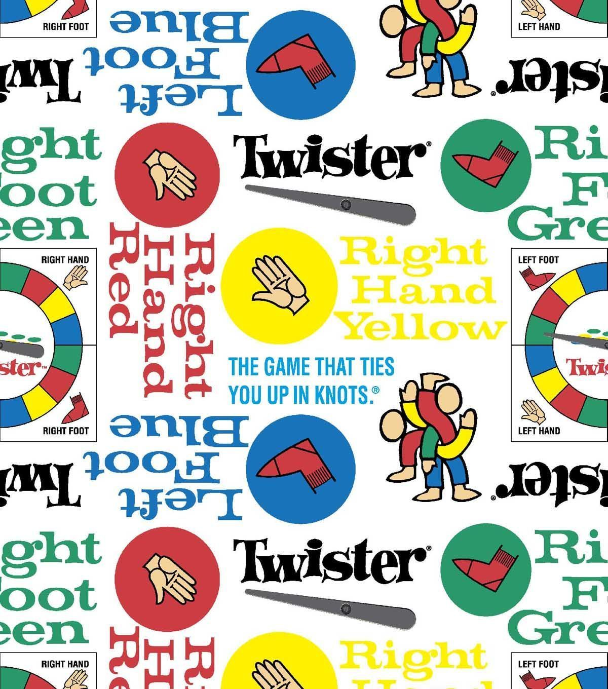 Twister fleece fabric products