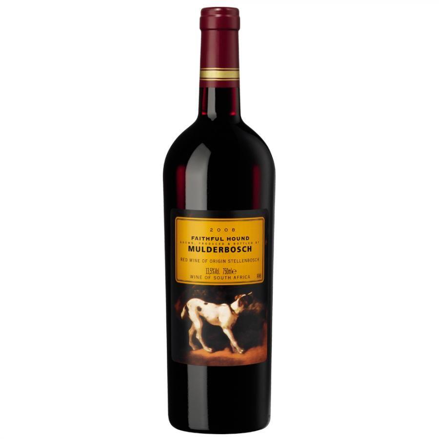 MULDERBOSCH FAITHFUL HOUND 2011 - Toller Wein und tollere Geschichte die sich um diesen Wein und seinen Hund dreht! Sollte man auf jeden Fall einmal getrunken haben.