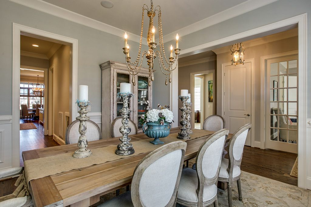 Dining Room Inspiration I Beautiful Light Fixtures I Candles I Flowers I #GroveLiving