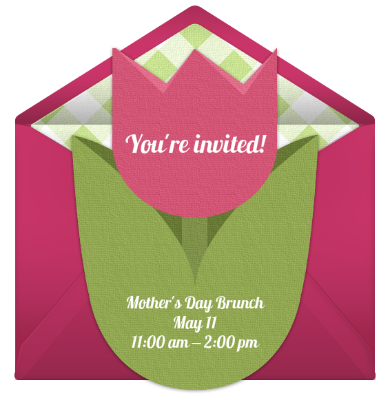 Host a Beautiful Mothers Day Brunch – Mothers Day Invitation Cards