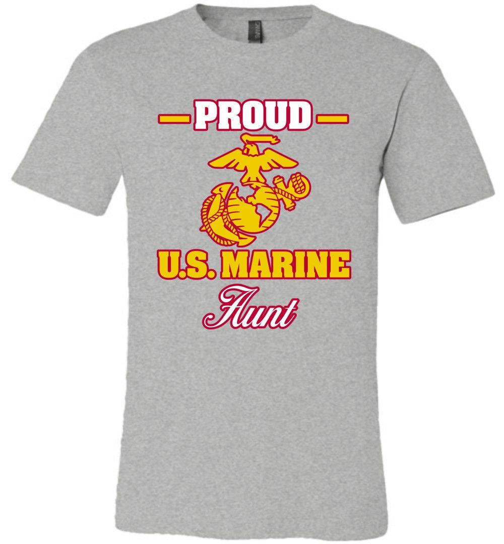 Usmc haircut styles proud us marine aunt canvas unisex tshirt  products  pinterest