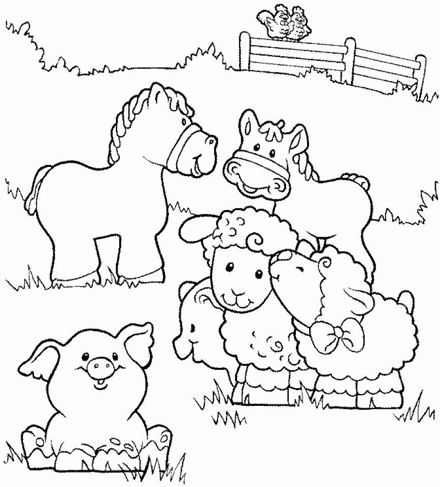 Printable Farm Animal Coloring Pages Inspirational 20 Free Printable Farm Animal Coloring In 2020 Farm Animal Coloring Pages Animal Coloring Books Farm Coloring Pages