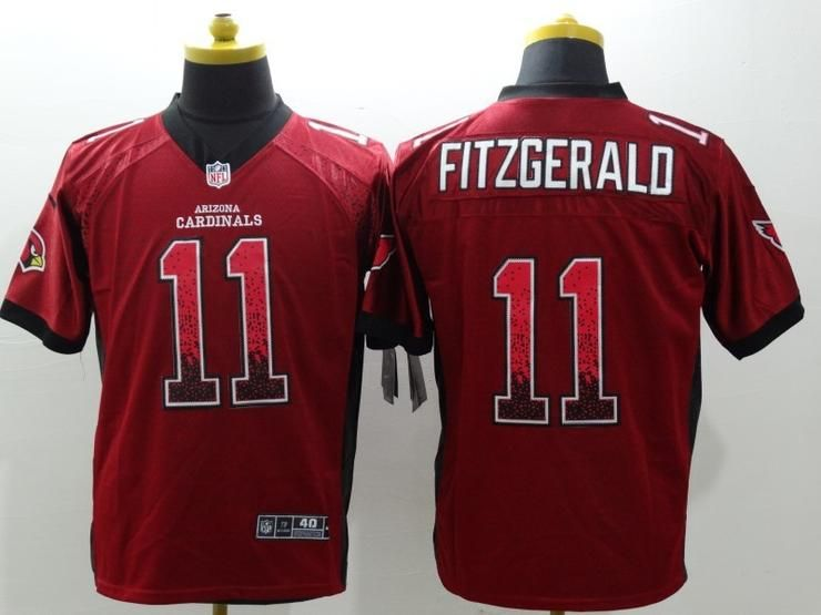 Men 11 Larry Fitzgerald Jersey Football Arizona Cardinals Jersey ... 21c7cc7d7