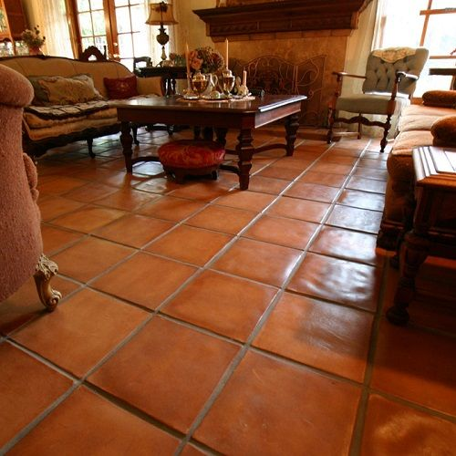 Create The Look Of Large Format Spanish Floor Tile With Cement Tile.