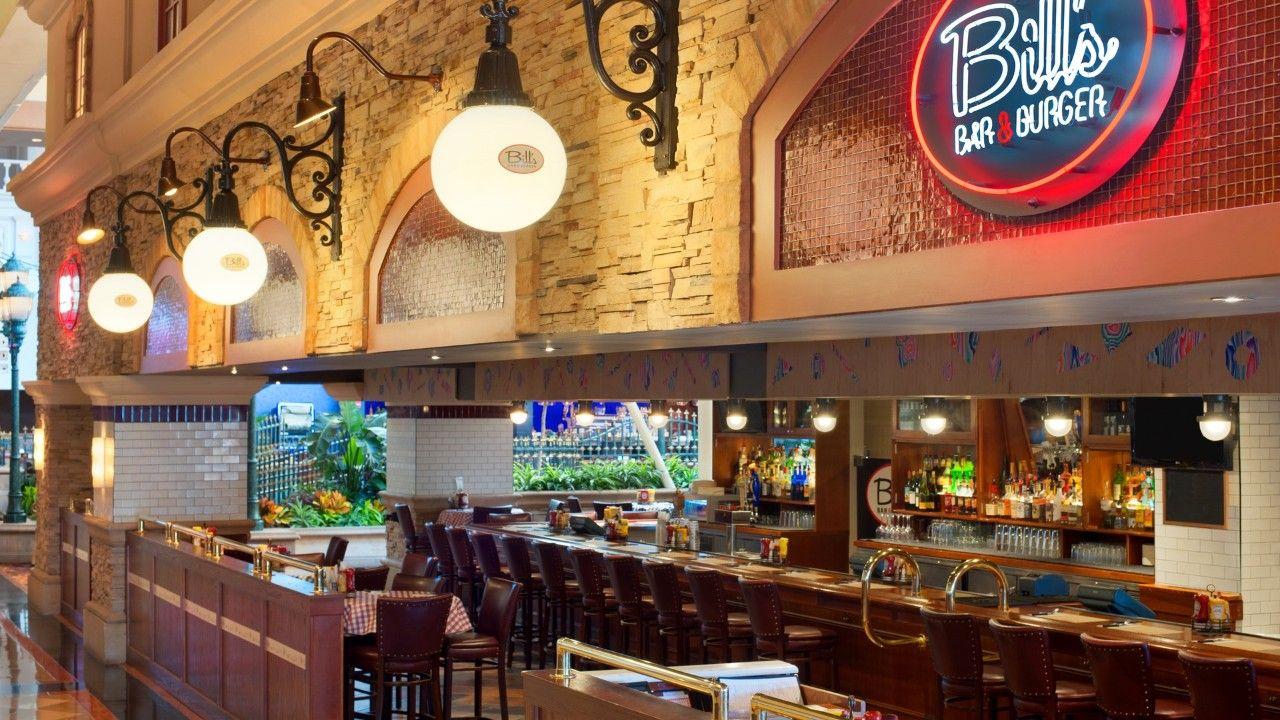 Bill S Bar Burger At Harrah S Resort Atlantic City Atlantic City Resorts Restaurant Atlantic City