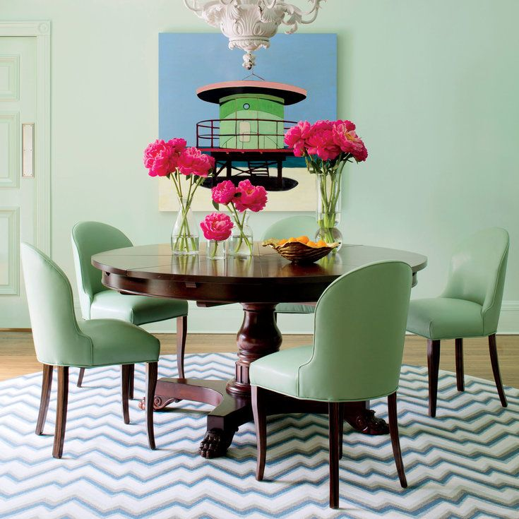 Colorful Palm Beach House Tour  Beach House Tour Palm Beach And Beauteous Coastal Living Dining Room Furniture Inspiration