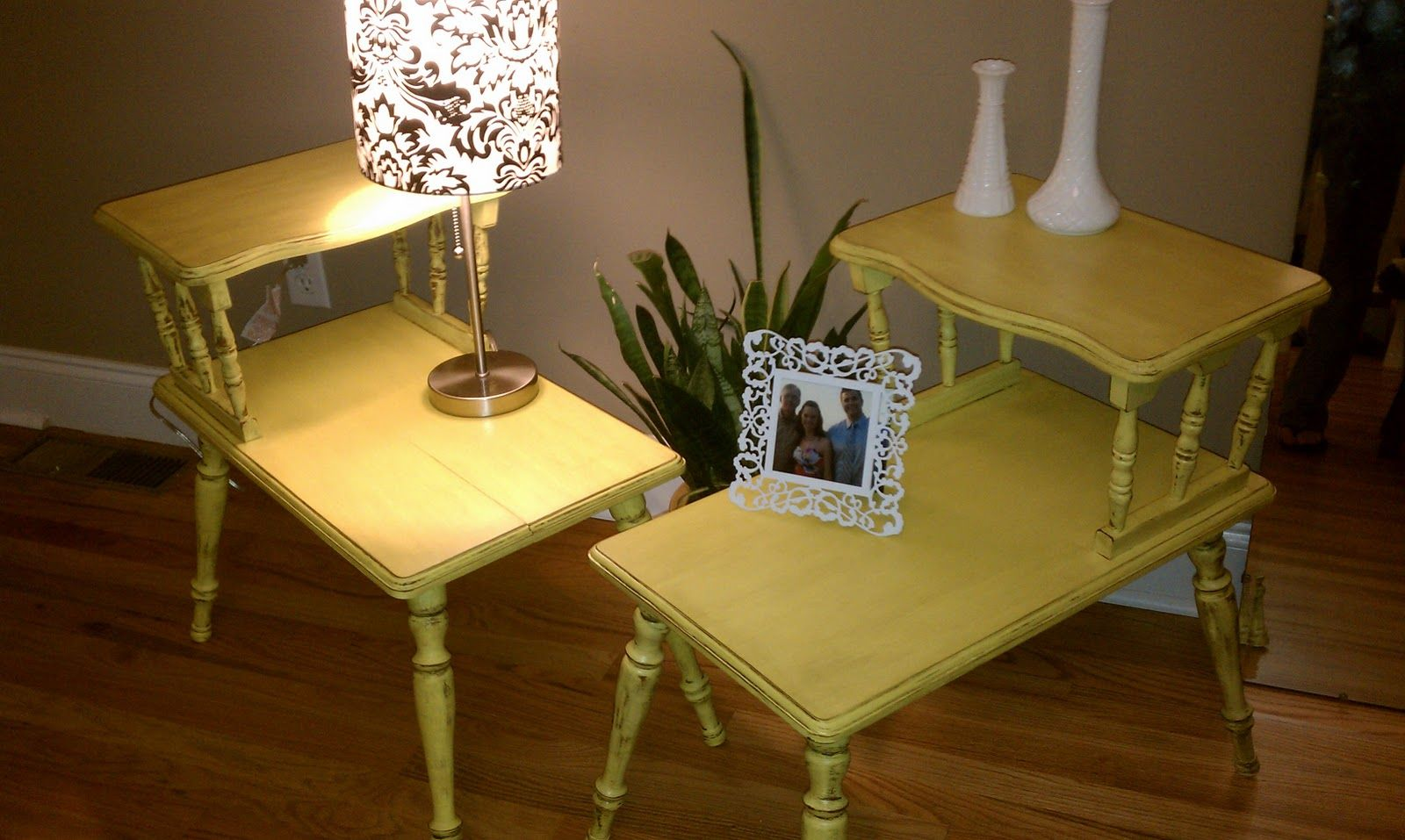 Simply Salvaged: Sweet Mustard Sisters | Painted dining ...