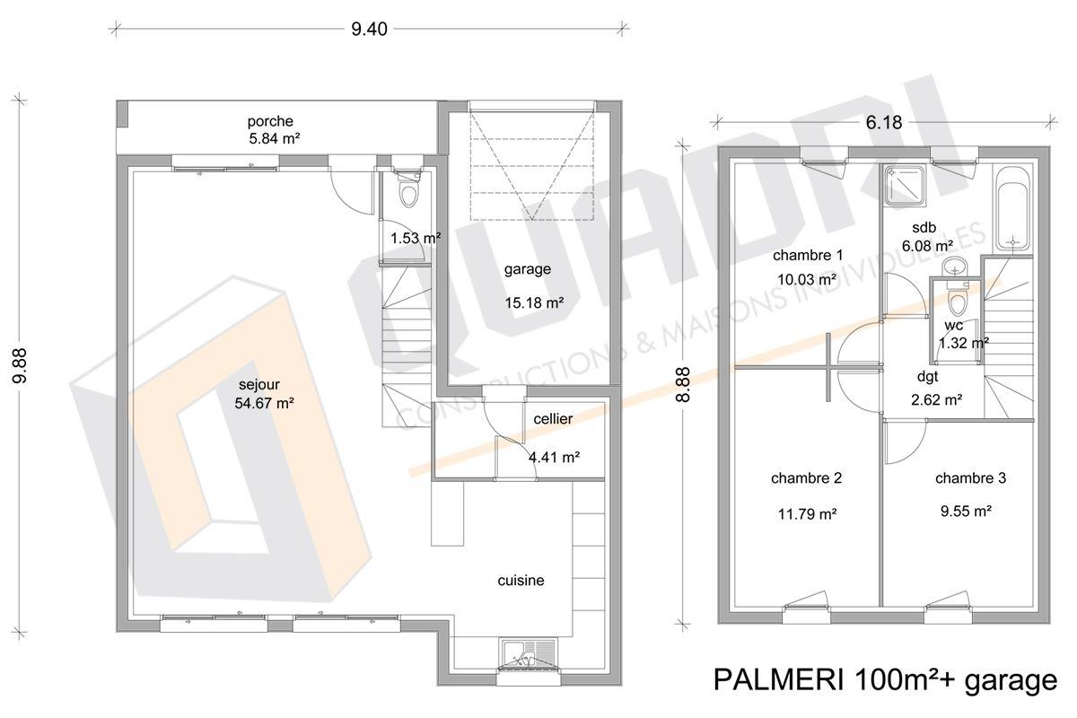 SOCIETE QUADRI - constructeur de maison en gironde - CCMI RT2012 - QUADRI - Construct ...