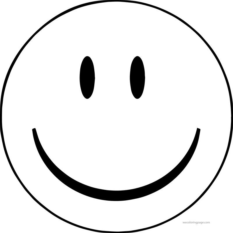 Face Smiley Face Happy Face Clip Art Big Coloring Page ...