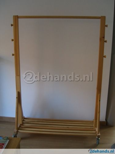 Precious Wooden Clothes Rack Ikea