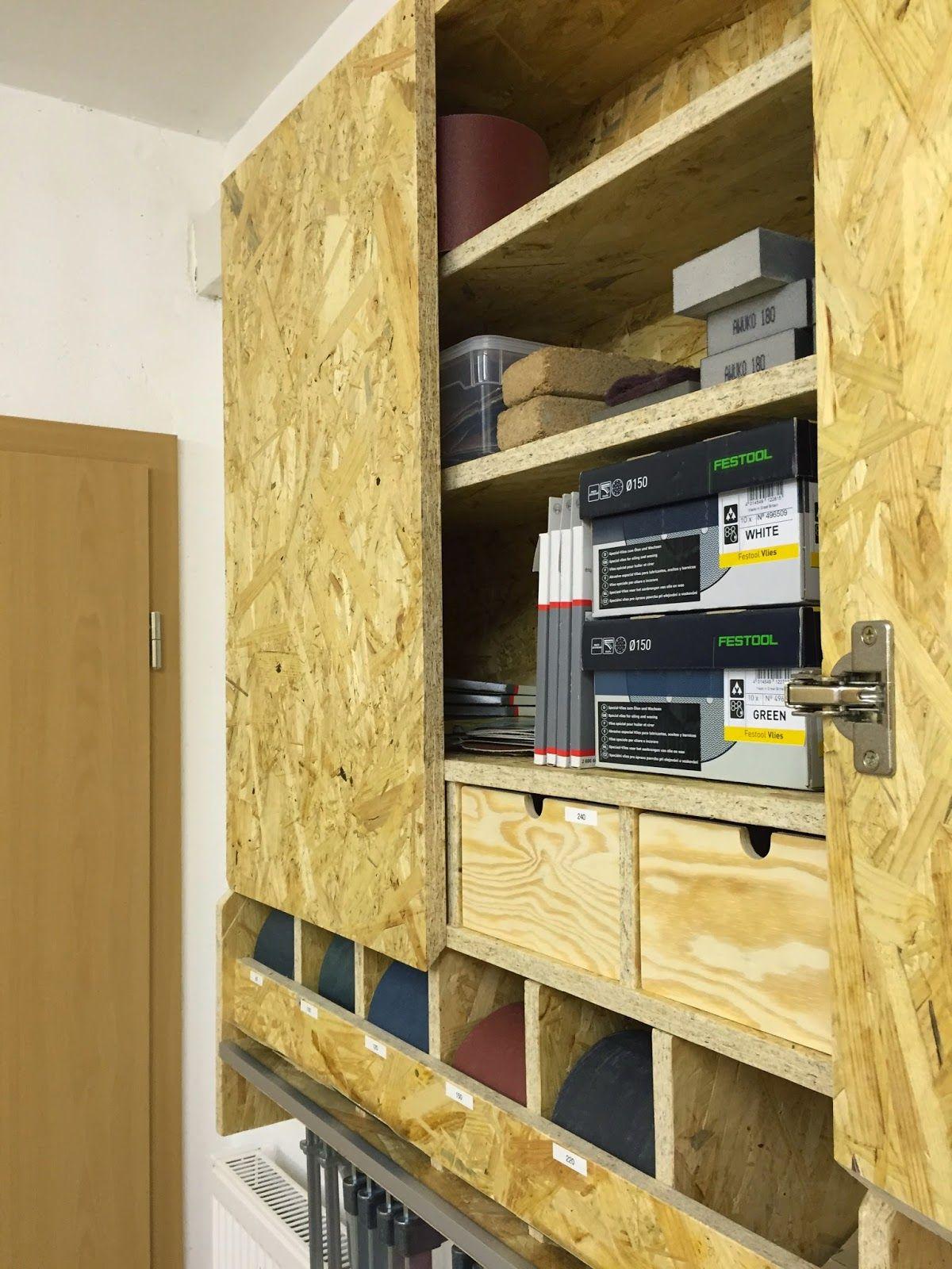 HolzwurmTom.de Baubericht Werkstattschrank für