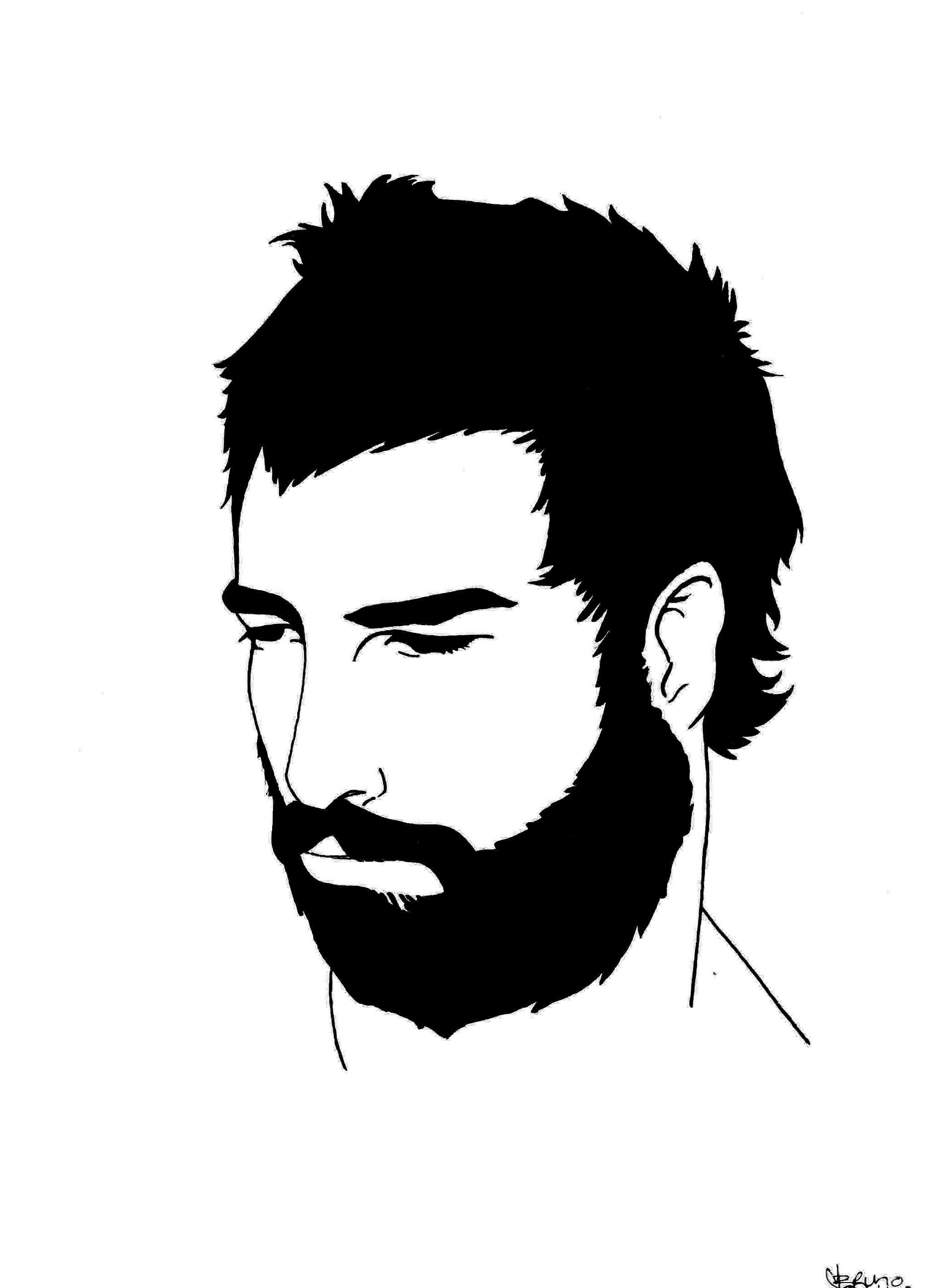 """bearded man&quot..."