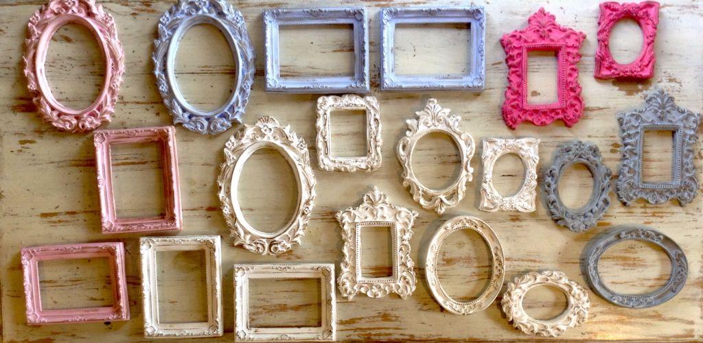 Marcos de yeso para espejos o vidrios   Espejos yeso   Pinterest ...