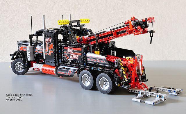 lego technic 8285 tow truck lego technic sammlung. Black Bedroom Furniture Sets. Home Design Ideas
