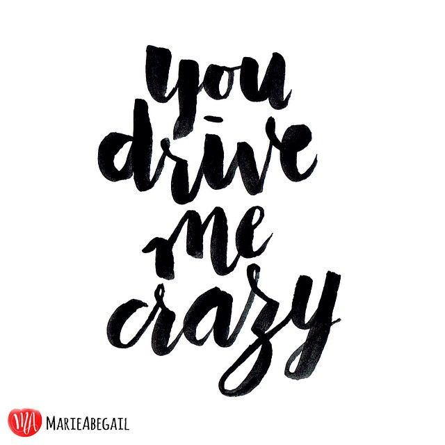"""80/365: You drive me crazy! """" 