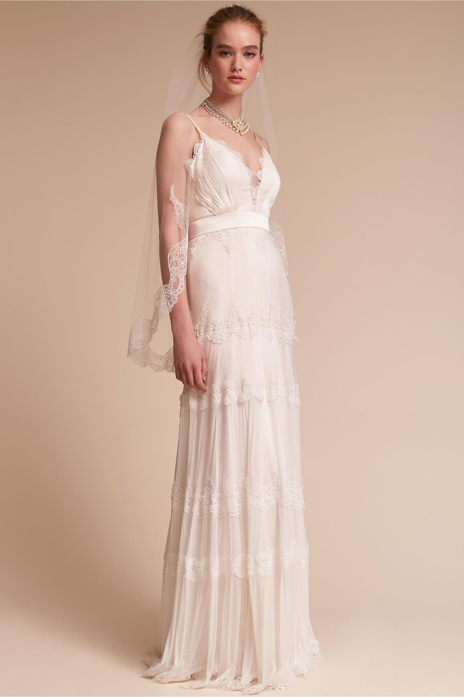 e2644f8ed4 BHLDN s Catherine Deane Jayme Gown in Ivory champagne