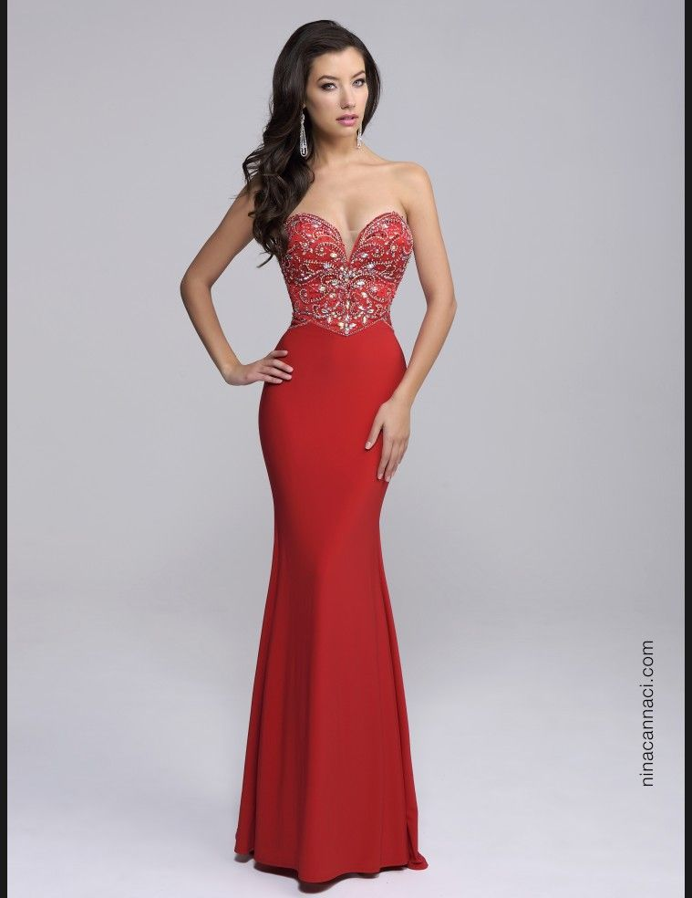In honor of Valentine\'s Day! #red #love #prom2K16 | Prom and ...
