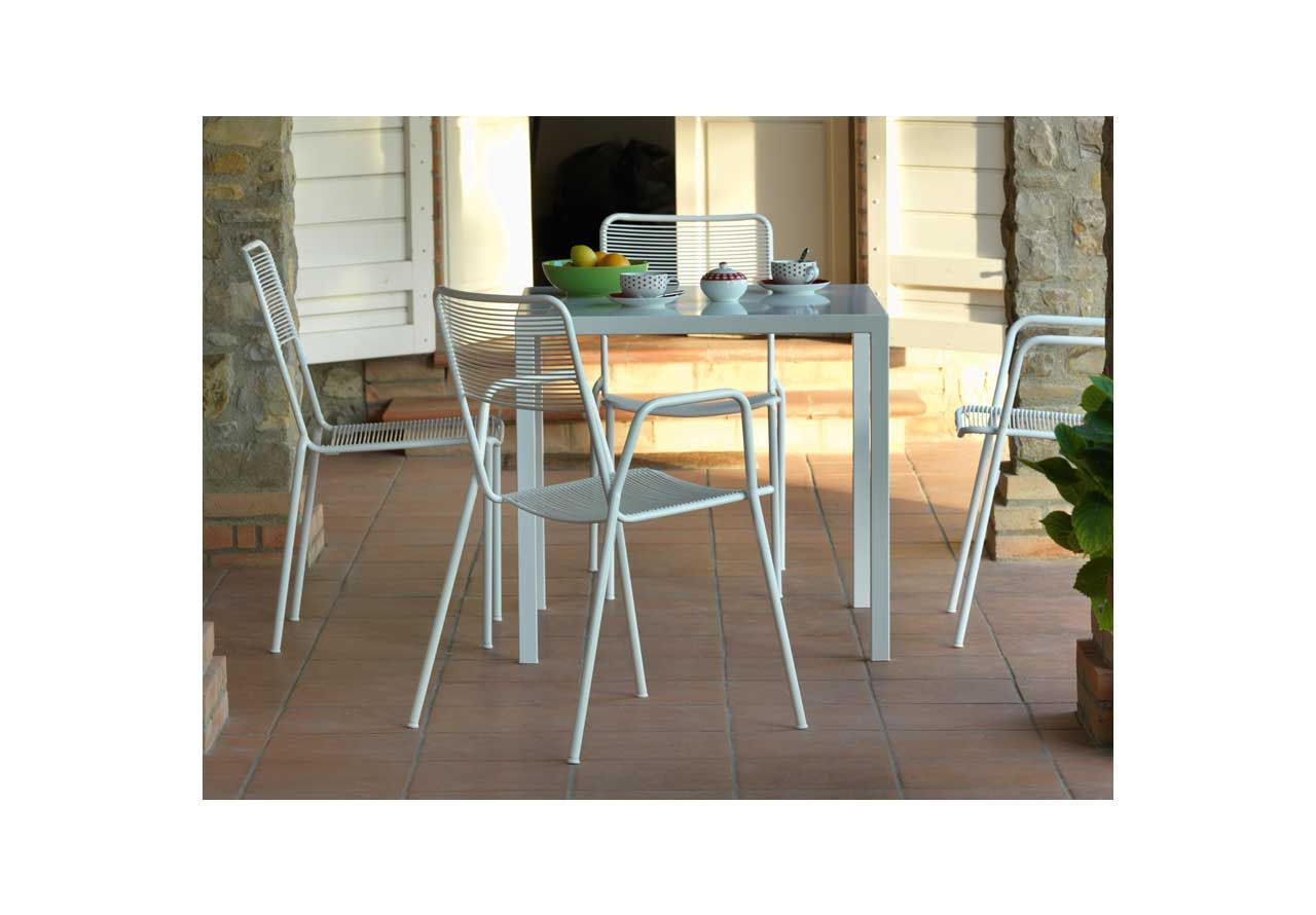 Stühle & Bänke   Isa Armlehnstuhl – weiß   avandeo Möbel-Online-Shop
