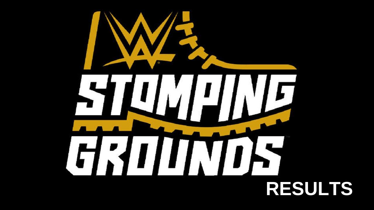 Wwe Stomping Grounds 2019 Results Wwe New Champion Atari Logo