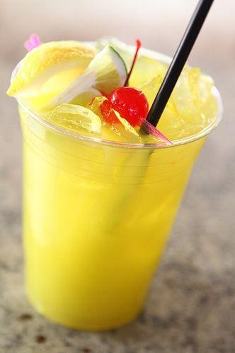 Rio Las Vegas Cocktail The Voo Features A Mixture Of Cruzan