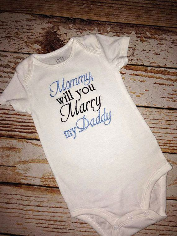 82d7e5d2 Boy's Mommy will you Marry my Daddy Shirt or by BIndulgedBoutique, $25.00