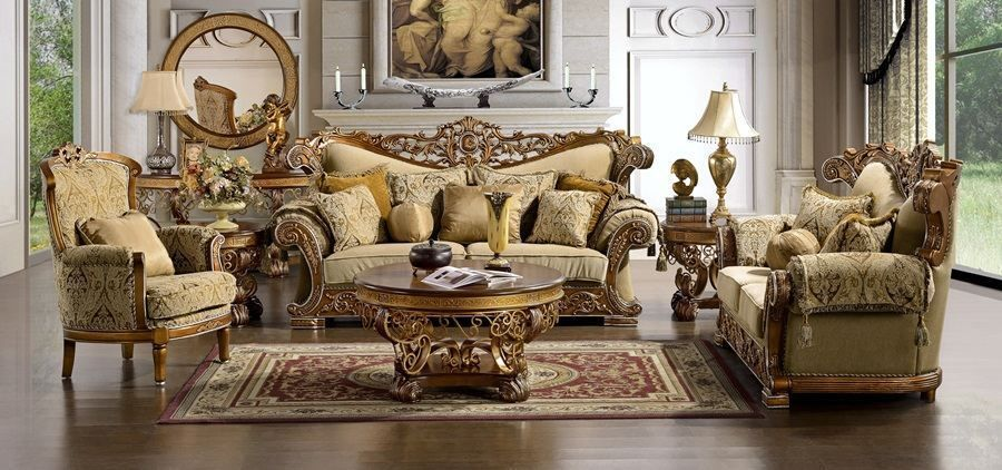 Marana high end formal living room sofa set impressive for Formal sofa sets