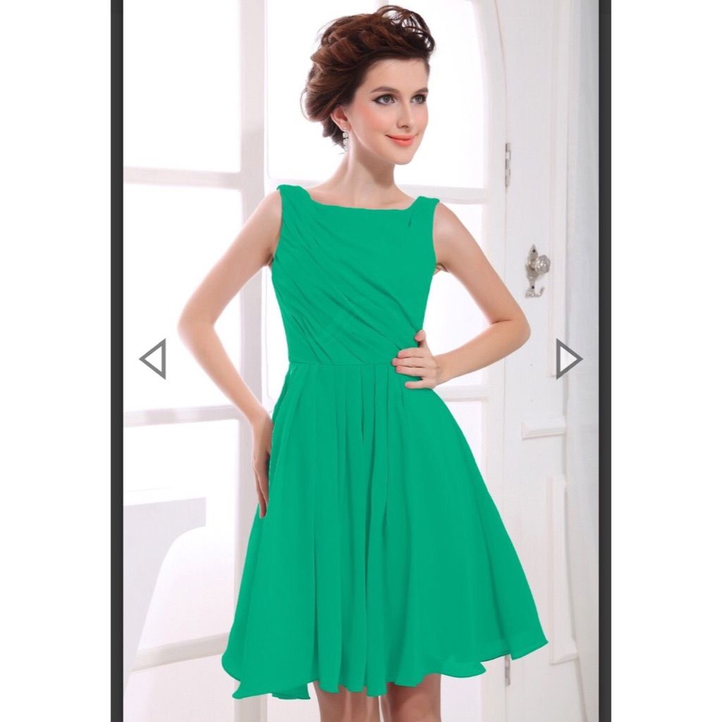 Pepper Green Party Dress By New Light | Products